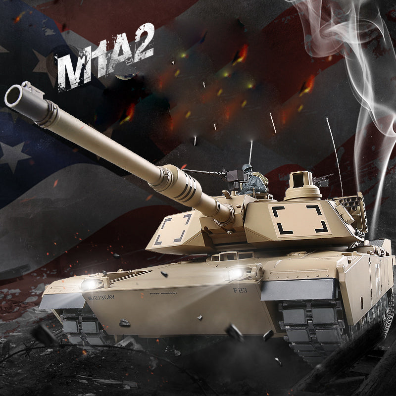 Limited Edition Vintage Model: RC Tank US M1A2 Abrams