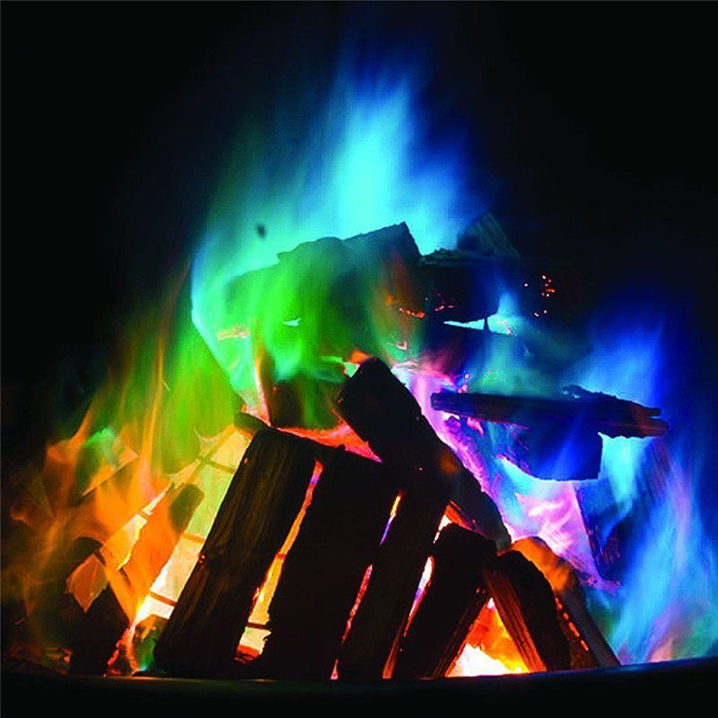 Pyro-Magic Colored Flames Prop: 15g Satchet Mixture