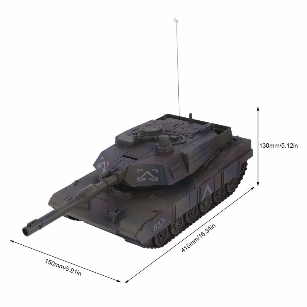 M1A2 Abrams- Mini RC Simulation Tank