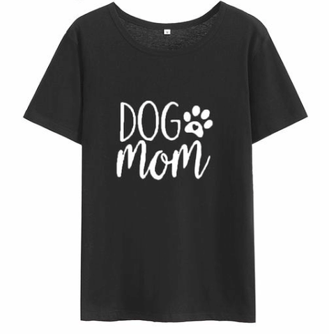 Dog Mom T-Shirt - My Naked Dog