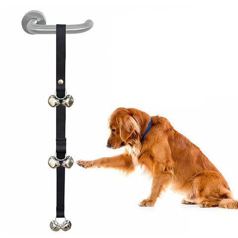 Adjustable Dog Training Doorbell Rope - My Naked Dog