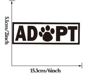 ADOPT Vehicle Decal