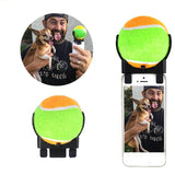 Tennis Ball Dog Selfie Stick - My Naked Dog