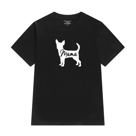 Chihuahua Dog Mom T-Shirt