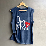Dog Mom Heart Tank