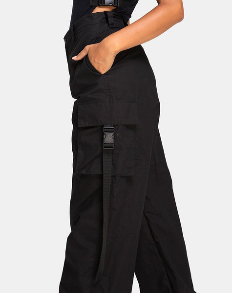 Antari Trouser in Black by Motel