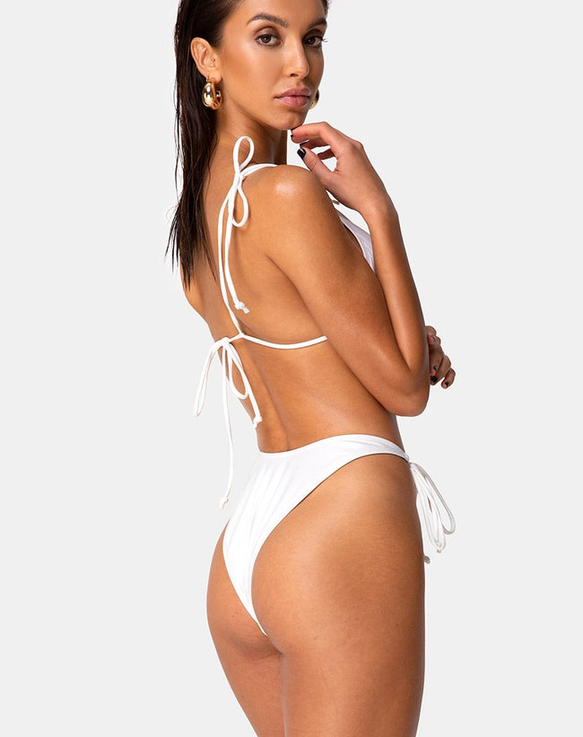 Avella Bikini Top in Ivory by Motel