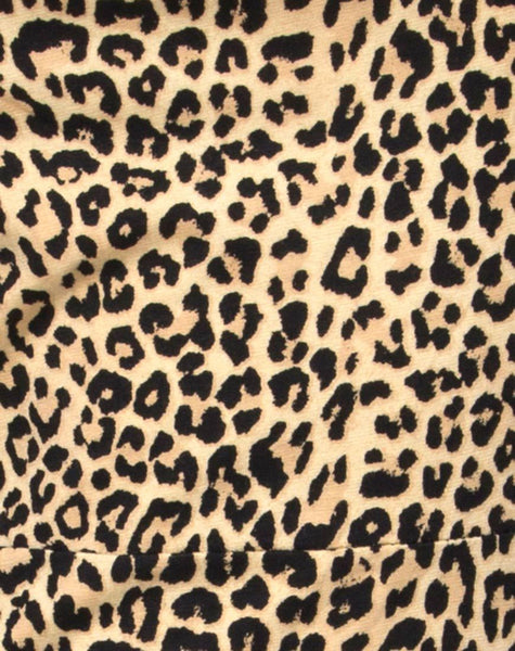 Boco Bodycon Dress in Rar Leopard by Motel