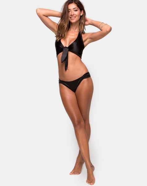 Constellation Bikini Bottom in Black by Motel