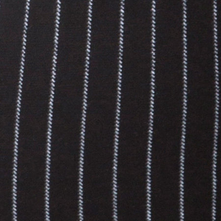 Cycle Short in Pinstripe Black By Motel