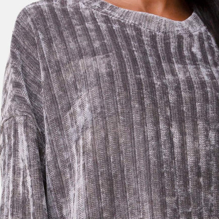 Dad Jumper in Chenille Grey by Motel