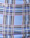 Dina Mini Skirt in 90's Check with Clear Sequin