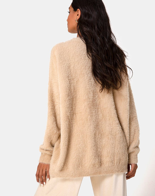 Edgen Jumper in Knit Sand by Motel
