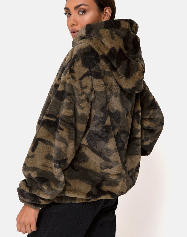 Emerson Jacket in Camo by Motel