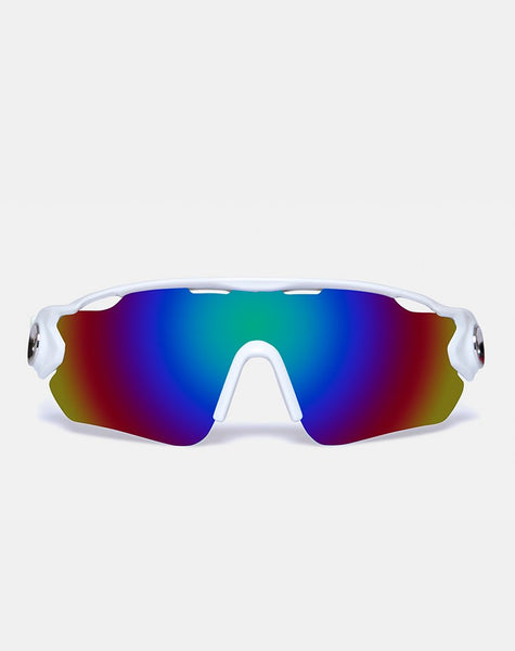Extreme Sunglasses in White by Motel