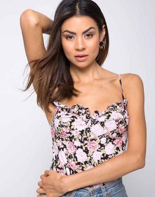 Franti Bodice in Bloom Floral by Motel