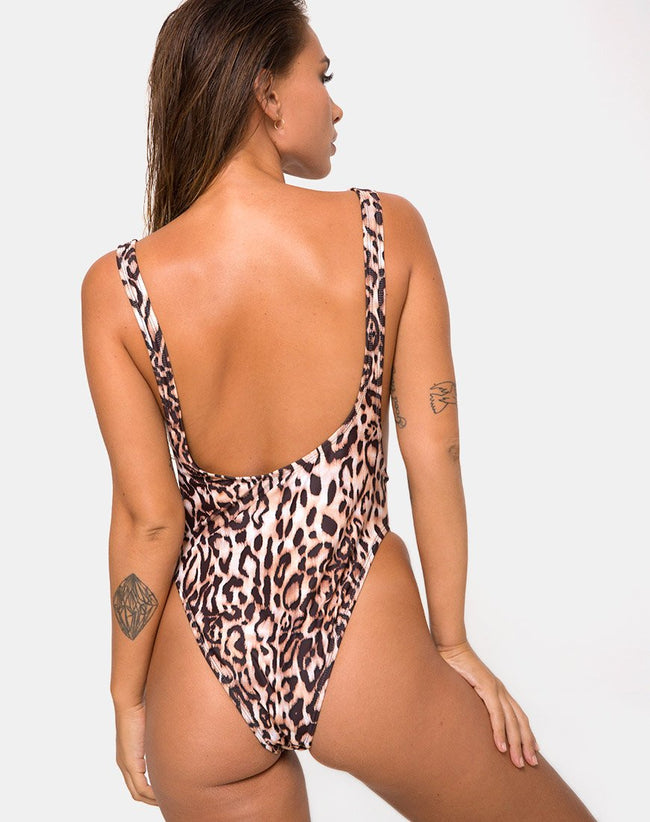 Goddess Swimsuit in New Cheetah by Motel
