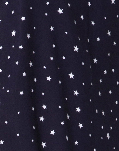 Hime Dress in Starstruck Navy By Motel