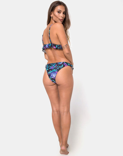 Ilona Bikini Bottom in Violet Dream by Motel