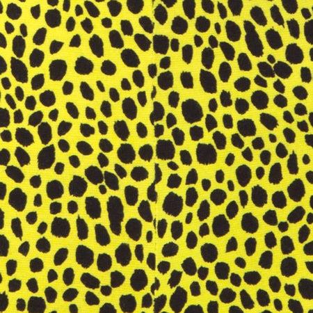 Cycle Short in Wild Cat Yellow by Motel X Princess Polly