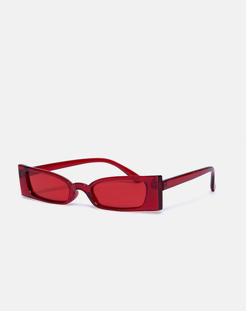 Joslin Sunglasses in Red by Motel