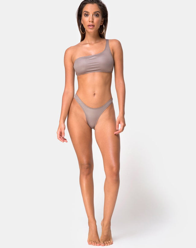 Keila Bikini Bottom in Coco by Motel