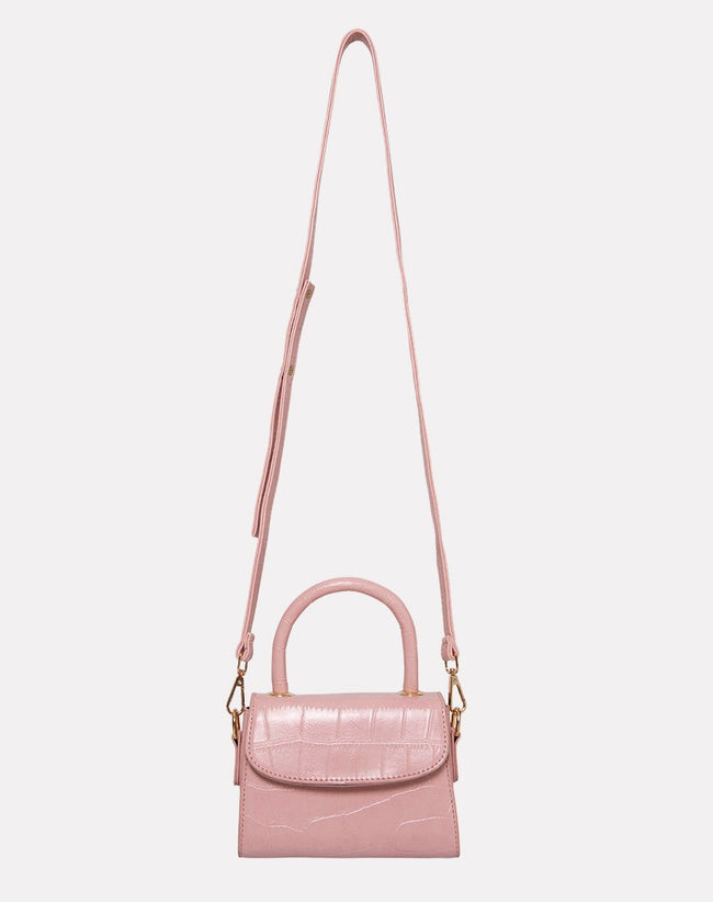 Kenny Micro Bag in Pink by Motel