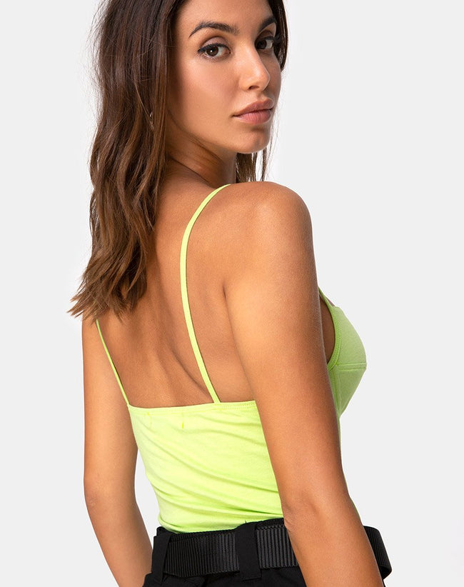 Lanti Bodice in Lime by Motel
