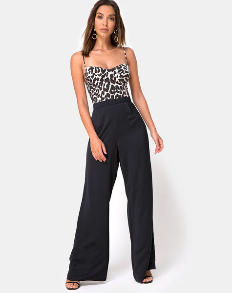 Lanti Bodice in Oversize Jaguar by Motel