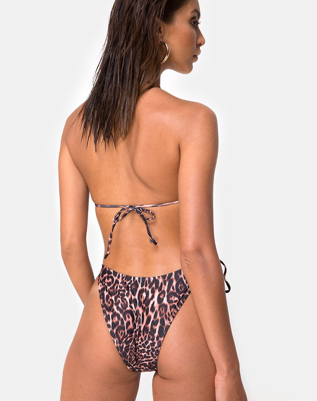 Lucky Swimsuit in Magic Leopard by Motel