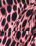 Miperi Top in Pink Cheetah by Motel