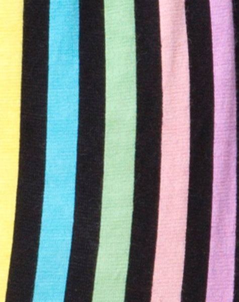 Lalung Plunge Bodice in New Stripe by Motel