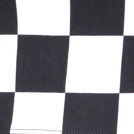 Villy Crop Top in Checker Board Medium B/W By Motel