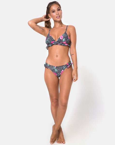 Sakila Bikini Bottom in Paradise Polka by Motel