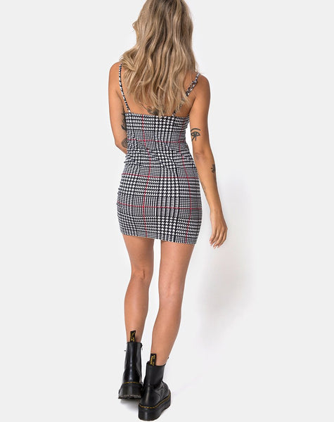 Selah Dress in Big Charles Check By Motel