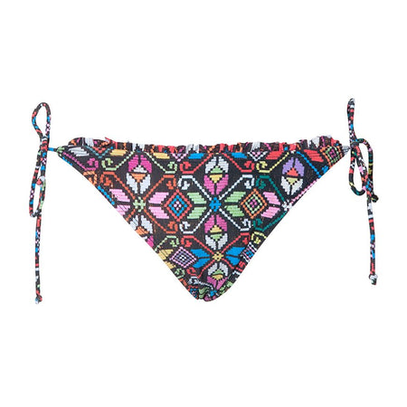 Sherbet Triangle Bikini Bottoms in La Boheme by Motel