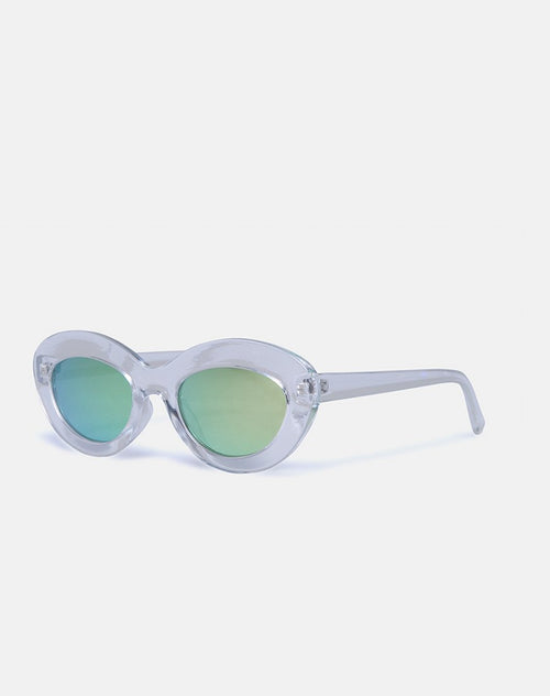 Skye Sunglasses in Clear by Motel