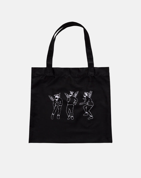 Tote Bag in Dancing Drake by Motel