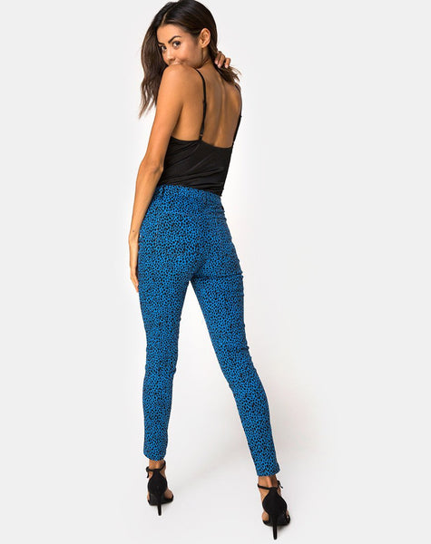 Ultimate Jeans in Wild Cat Blue By Motel