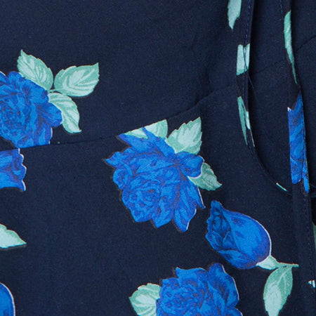 Vine Top in Midnight Blue Rose by Motel