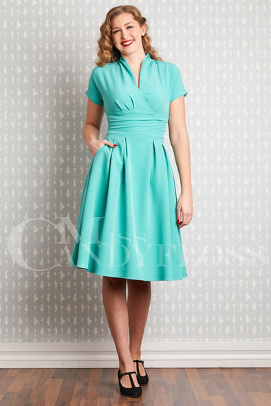 Sarita-Tiffany 1940s Dress - Divine N' Envy Modern Vintage Clothing