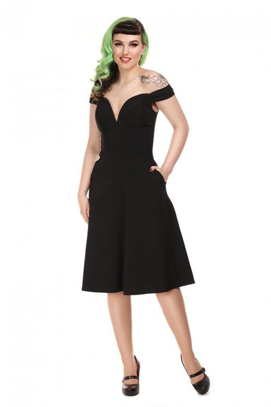 Valentina Swing Dress - Divine N' Envy Modern Vintage Clothing