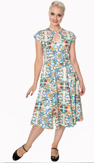 Mandala Swing Dress - Divine N' Envy Modern Vintage Clothing