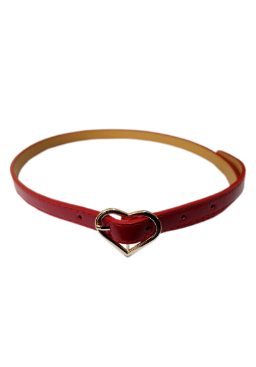 My Heart Waist Belt in Red - Divine N' Envy Modern Vintage Clothing
