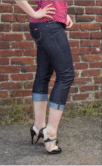 Capri Denim Jeans by Rumble 59 - Divine N' Envy Modern Vintage Clothing