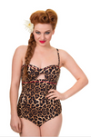Thunderstruck One Piece Swimsuit - Divine N' Envy Modern Vintage Clothing