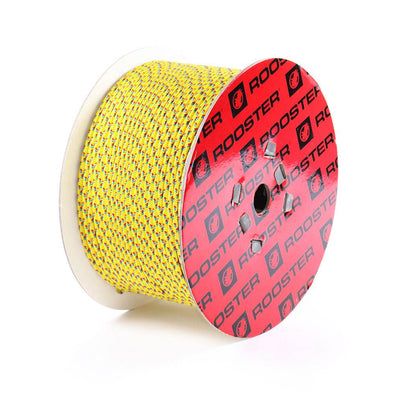 Rooster Polilite Rope - 200M Reel-6mm (Yellow)
