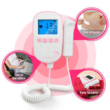 Portable Fetal Ultrasound Heart Rate Detector