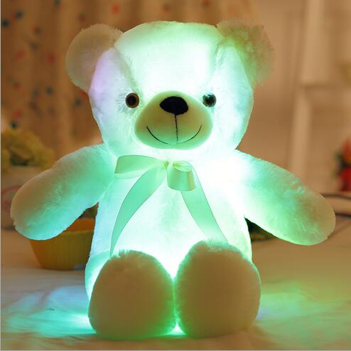 Big Baby Teddy Bear Led Plush