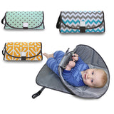 Portable Clean Hands Changing Pad. 3-in-1 Diaper Clutch